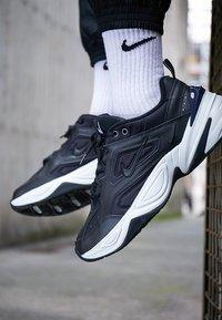 Nike Sportswear - M2K TEKNO - Sneakers - black/offwhite/obsidian - 7