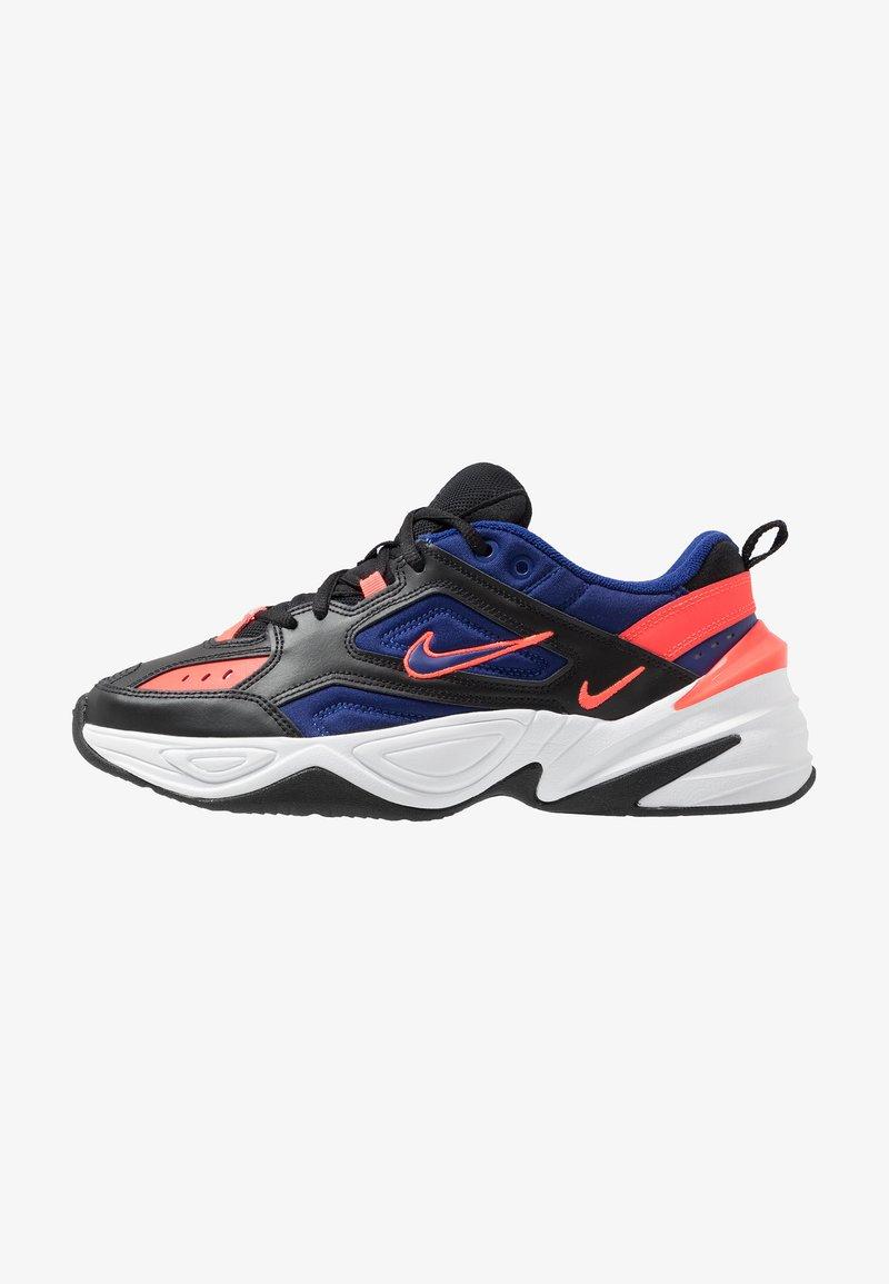 Nike Sportswear - M2K TEKNO - Trainers - black/deep royal blue/bright crimson/white