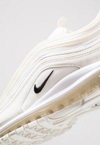 Nike Sportswear - AIR MAX 97  - Sneakersy niskie - sail/black/white - 5