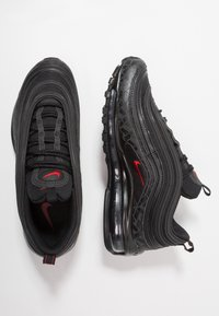 Nike Sportswear - AIR MAX 97  - Trainers - black/university red - 1