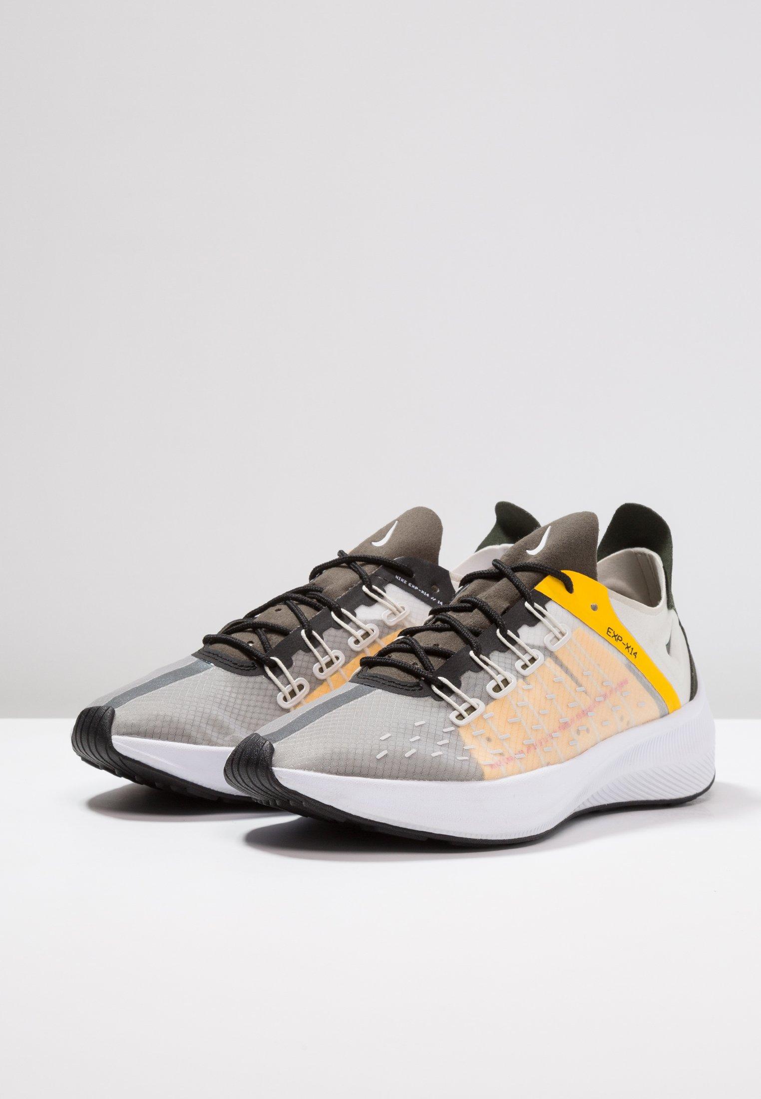 Nike Sportswear EXP-X14 - Baskets basses light bone/bright mango/sequoia/amarillo/medium olive/summit white
