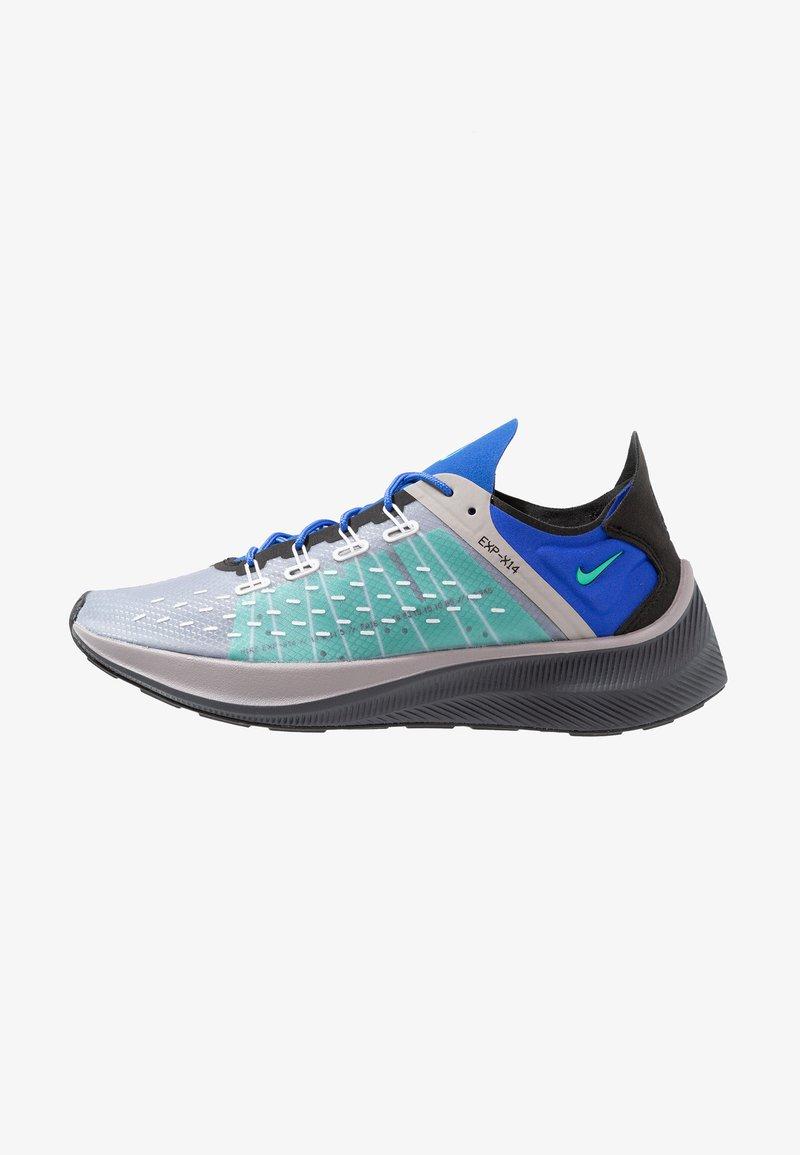 Nike Sportswear - EXP-X14 - Sneaker low - pure platinum/menta/atmosphere grey/racer blue/black/dark grey