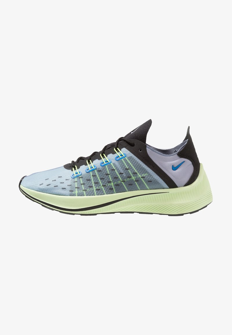 Nike Sportswear - EXP-X14 - Matalavartiset tennarit - photo blue/glacier grey/black/volt/barely volt