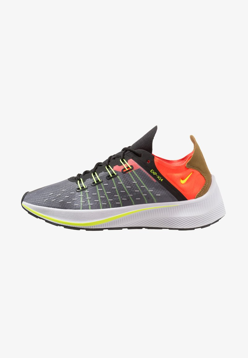 Nike Sportswear - EXP-X14 - Trainers - black/total crimson/dark grey/volt