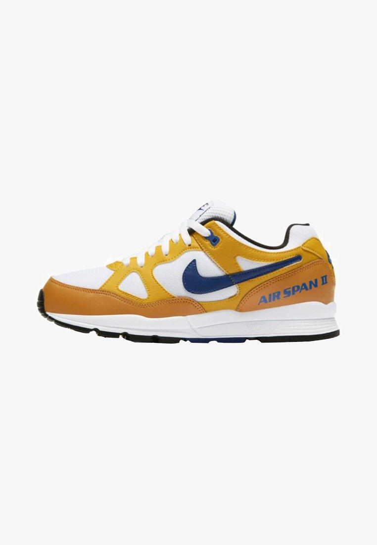 Nike Sportswear - AIR SPAN II - Sneaker low - ochre/dark blue