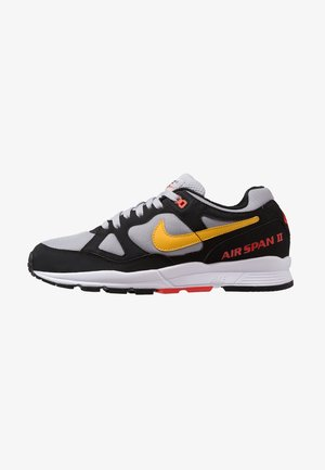 AIR SPAN II - Tenisky - black/yellow ochre/wolf grey/habanero red/white