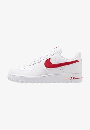 AIR FORCE 1 '07 - Sneakersy niskie - white/gym red