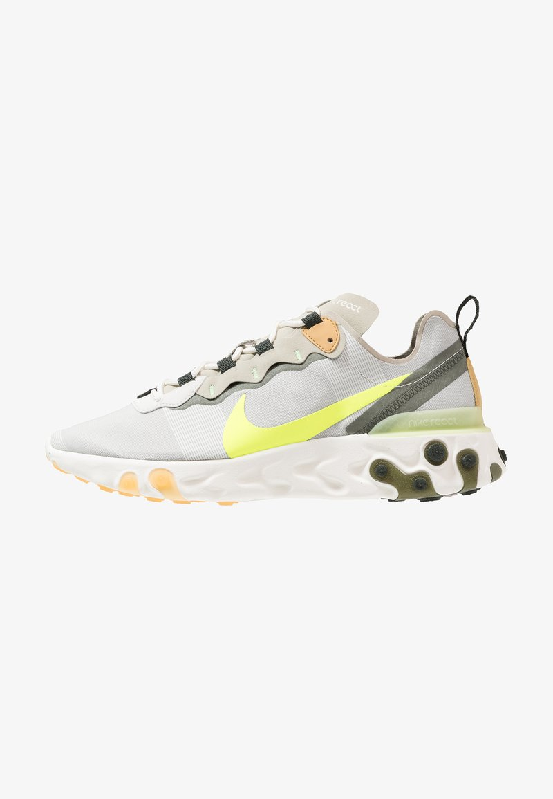 Nike Sportswear - REACT 55 - Trainers - spruce aura/volt/spruce fog/barely volt/club gold/sequoia
