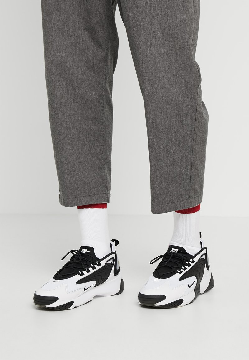 Nike Sportswear - ZOOM 2K - Baskets basses - white/black