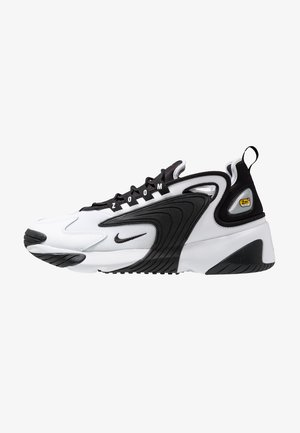 ZOOM  - Sneakersy niskie - white/black