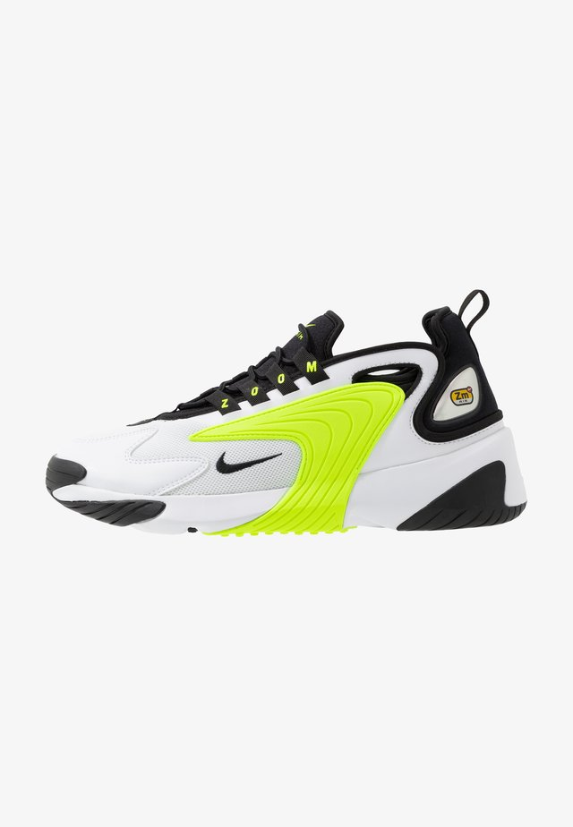 ZOOM  - Sneakers basse - white/black/volt