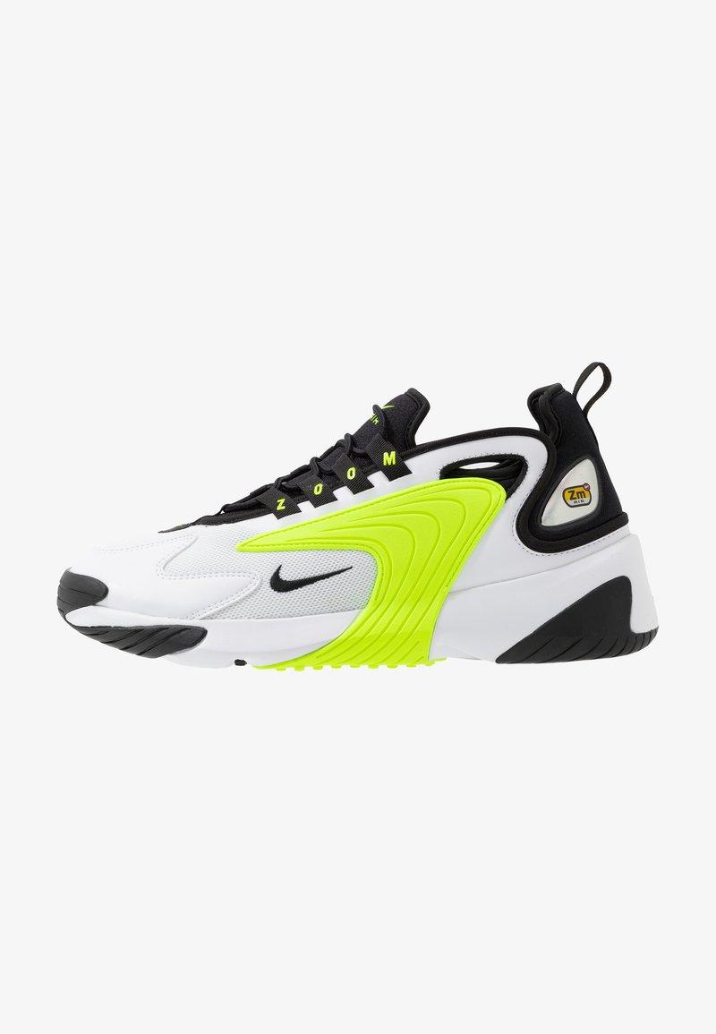 Nike Sportswear - ZOOM  - Sneakers - white/black/volt