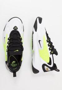 Nike Sportswear - ZOOM  - Sneakers - white/black/volt - 1