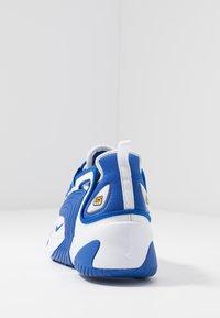 Nike Sportswear - ZOOM  - Sneakers - white/game royal - 3