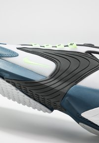 Nike Sportswear - ZOOM  - Sneakersy niskie - white/ghost green/iron grey/thunderstorm - 5