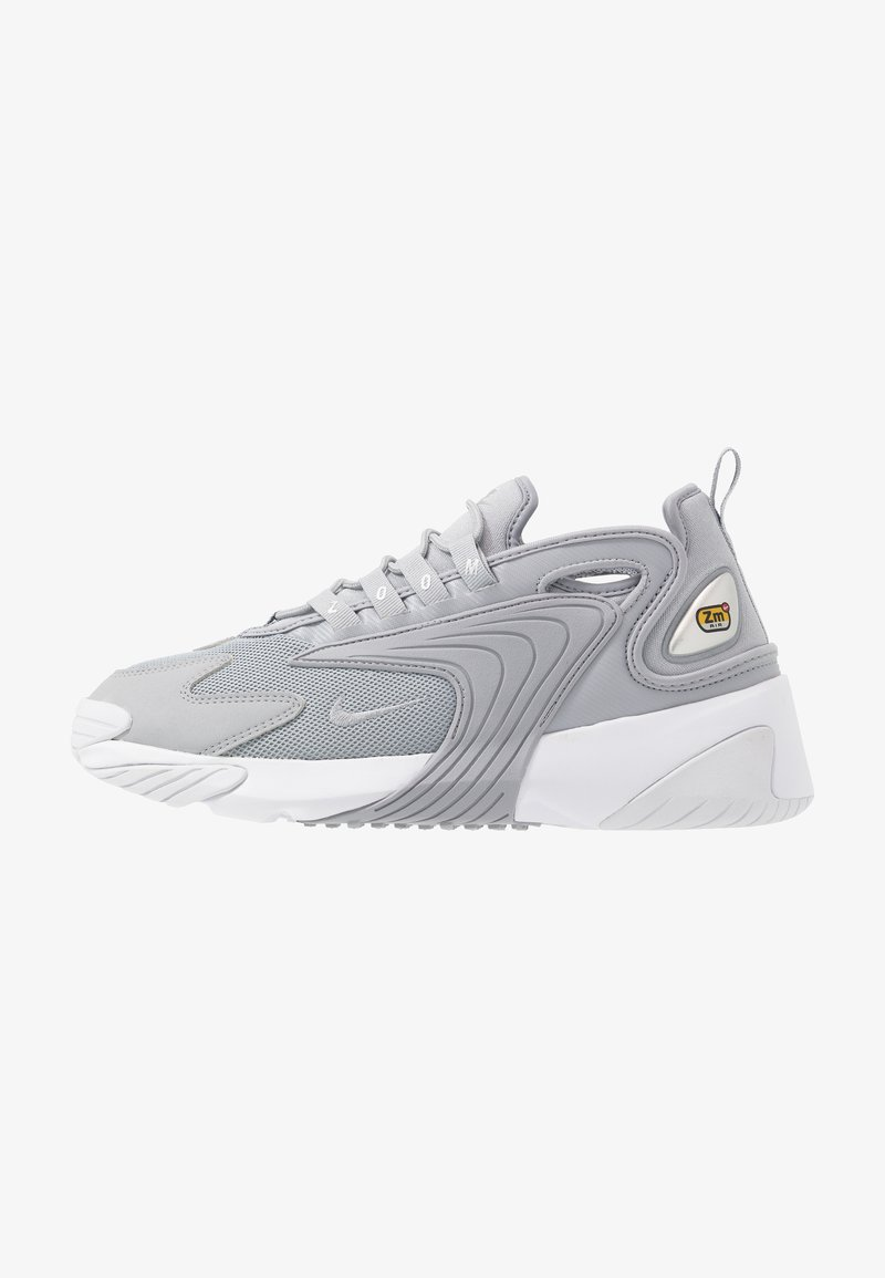 Nike Sportswear - ZOOM  - Sneakers - wolf grey/metallic silver/white