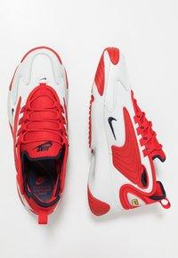 Nike Sportswear - ZOOM 2K - Sneakers - offwhite/obsidian/university red - 1