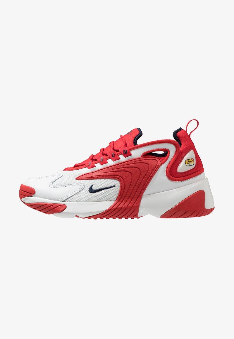Nike Sportswear - ZOOM 2K - Sneakers - offwhite/obsidian/university red