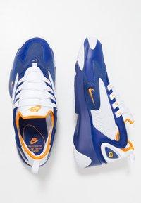 Nike Sportswear - ZOOM 2K - Sneakers - deep royal blue/orange peel/white - 2
