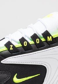 Nike Sportswear - ZOOM 2K - Sneakers - black/volt/white - 5