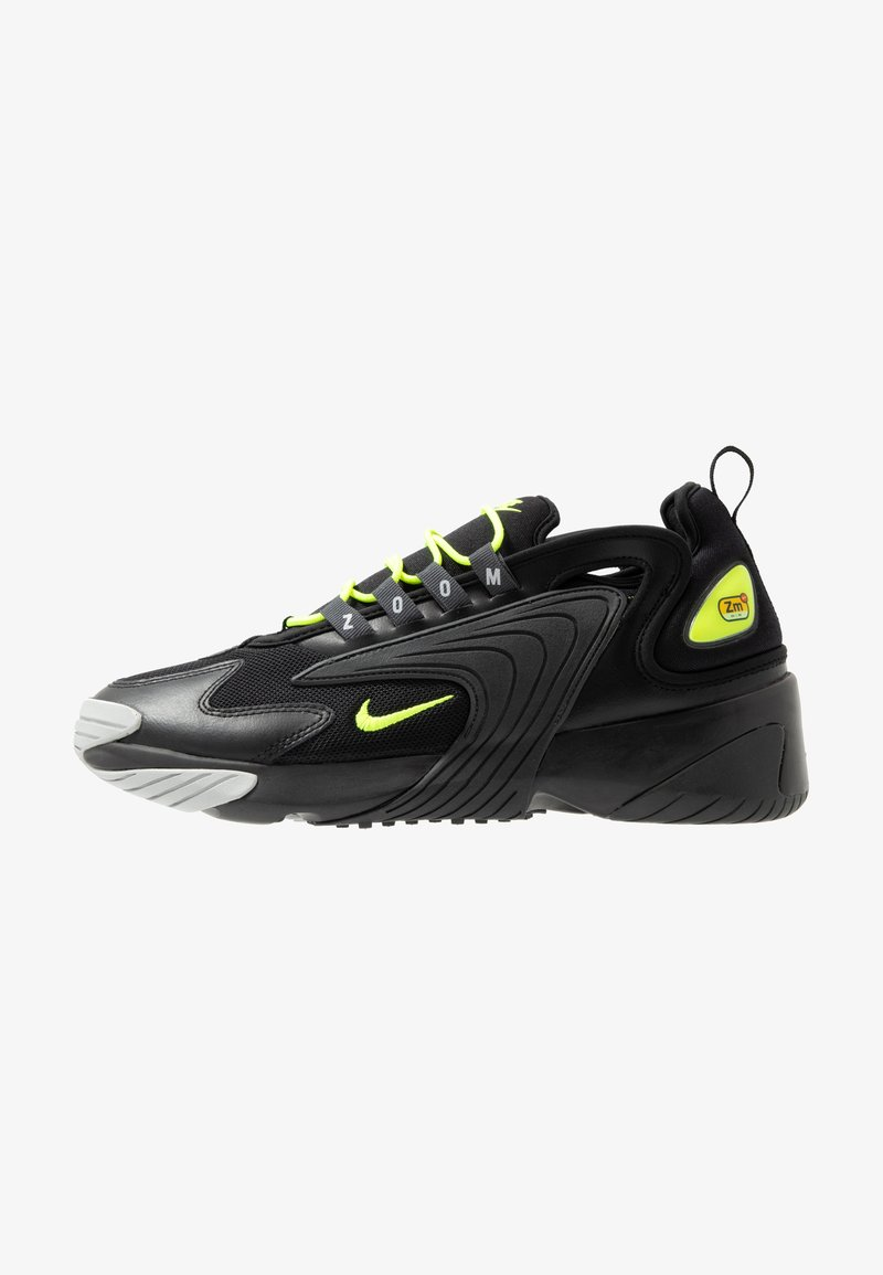 Nike Sportswear - ZOOM 2K - Sneakers - black/volt/anthracite/wolf grey