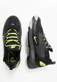 Nike Sportswear - ZOOM 2K - Sneakers - black/volt/anthracite/wolf grey - 1