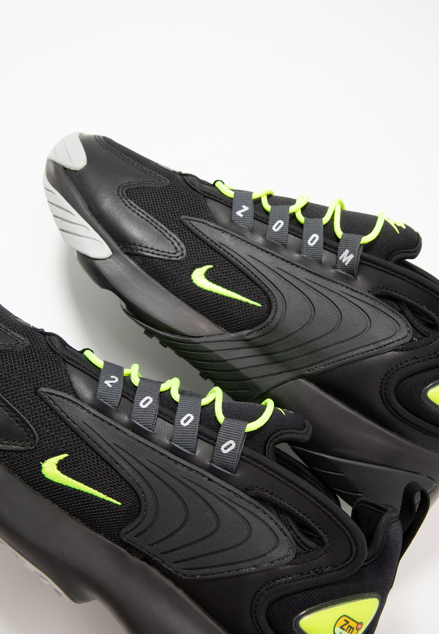 Nike Sportswear Zoom 2k - Sneakers Black/volt/anthracite/wolf Grey