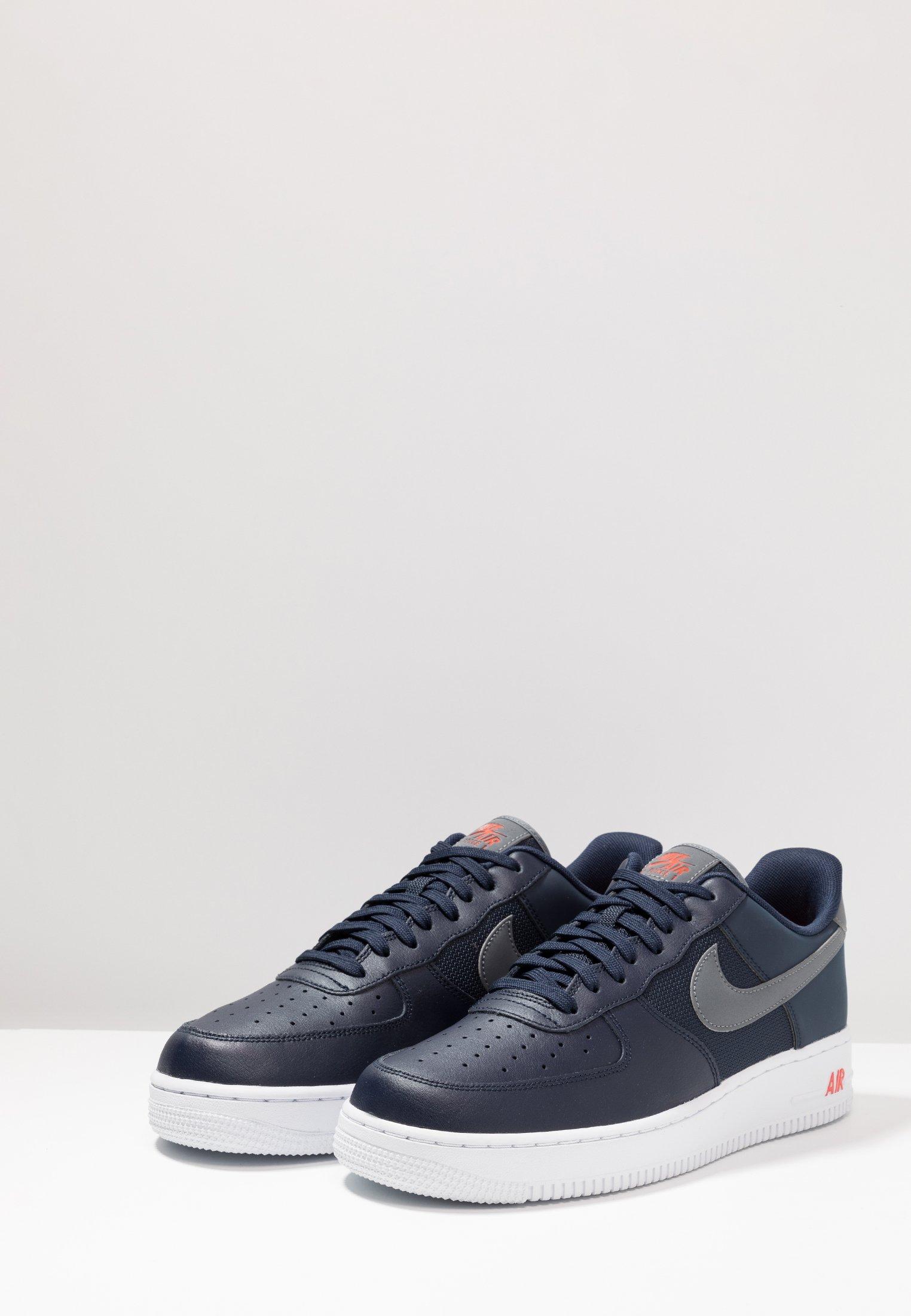 Air Lv8Baskets Nike Force Orange Grey team Basses 1 cool Obsidian '07 Sportswear NO8wn0vm