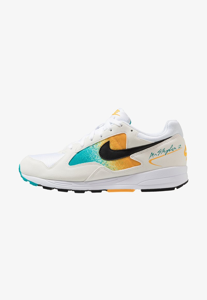 Nike Sportswear - AIR SKYLON II - Sneaker low - white/black/univeral gold/spirit teal
