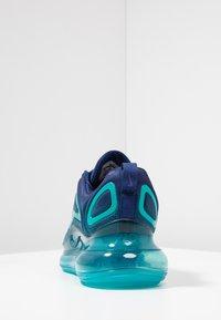 Nike Sportswear - AIR MAX 720 - Sneakers laag - blue void/court purple/spirit teal - 3