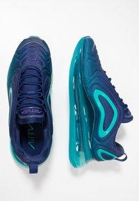 Nike Sportswear - AIR MAX 720 - Sneakers laag - blue void/court purple/spirit teal - 1