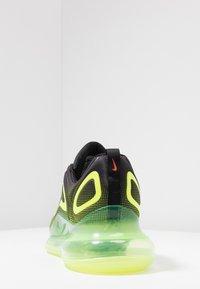 Nike Sportswear - AIR MAX 720 - Sneakersy niskie - black/bright crimson/volt - 4