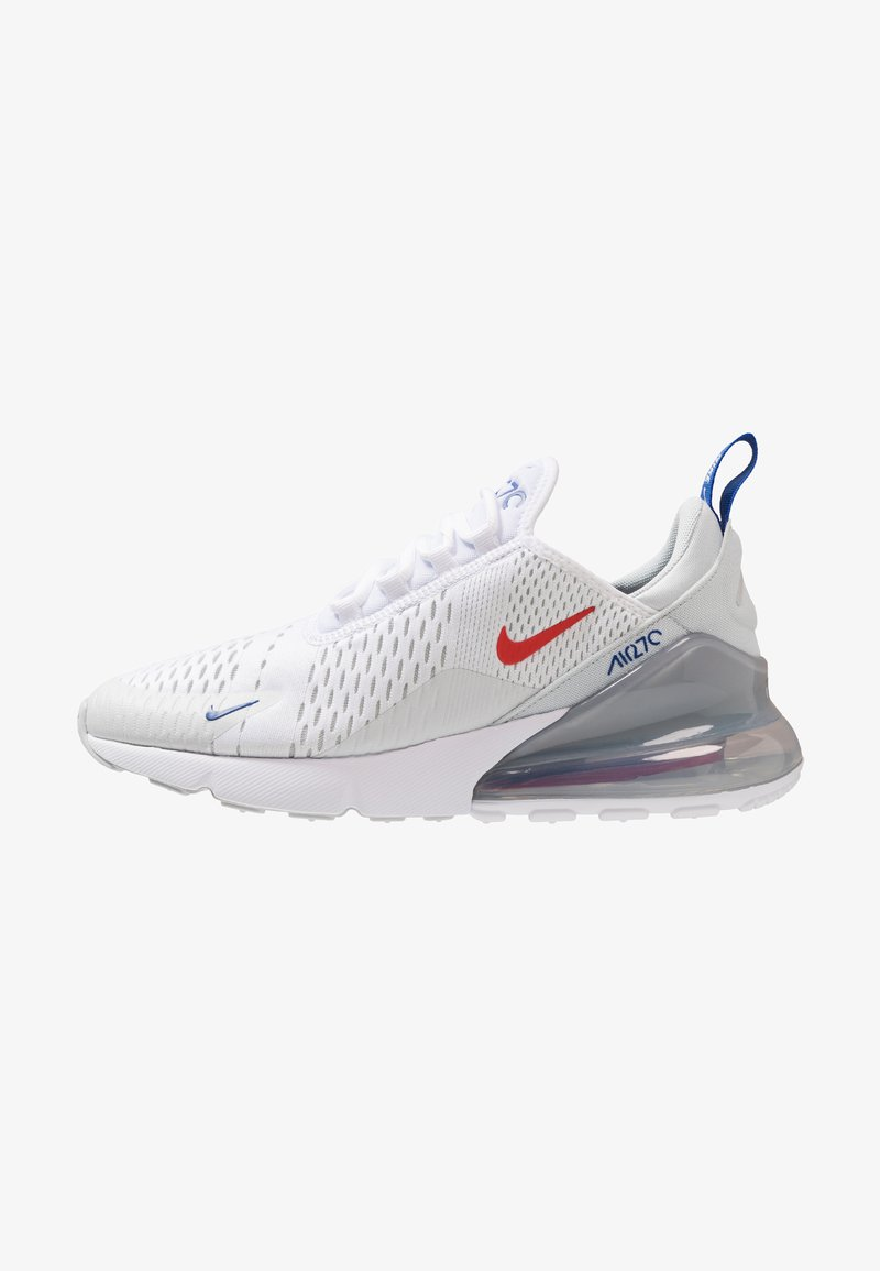 Nike Sportswear - AIR MAX 270 - Trainers - white/habanero red/pure platinum/game royal