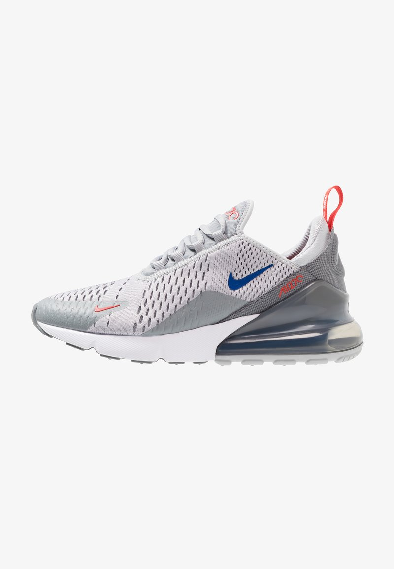 Nike Sportswear - AIR MAX 270 - Sneaker low - wolf grey/game royal/cool grey/habanero red/white