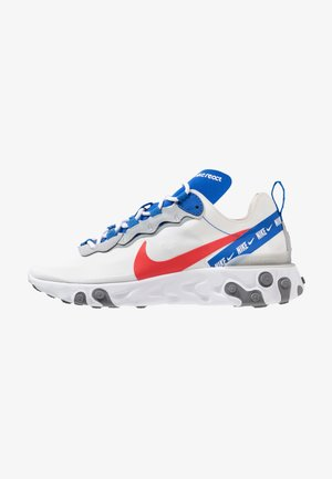 REACT ELEMENT 55 - Baskets basses - white/habanero red/game royal