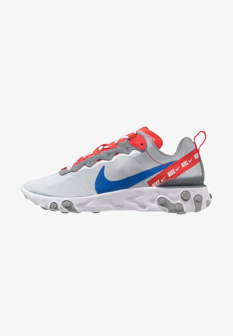 Nike Sportswear - REACT ELEMENT 55 - Baskets basses - wolf grey/game royal/habanero red