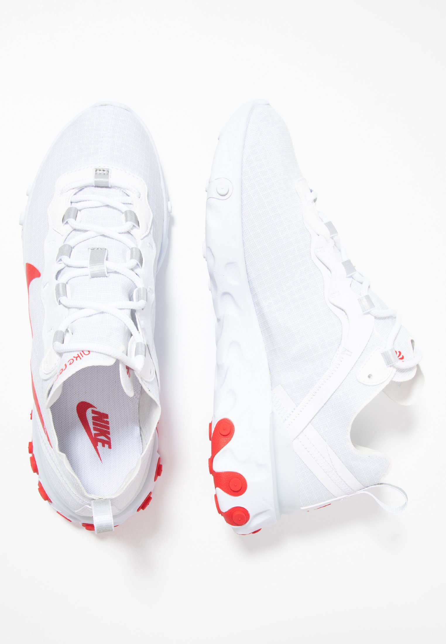 REACT ELEMENT 55 SE Baskets basses whiteuniversity red