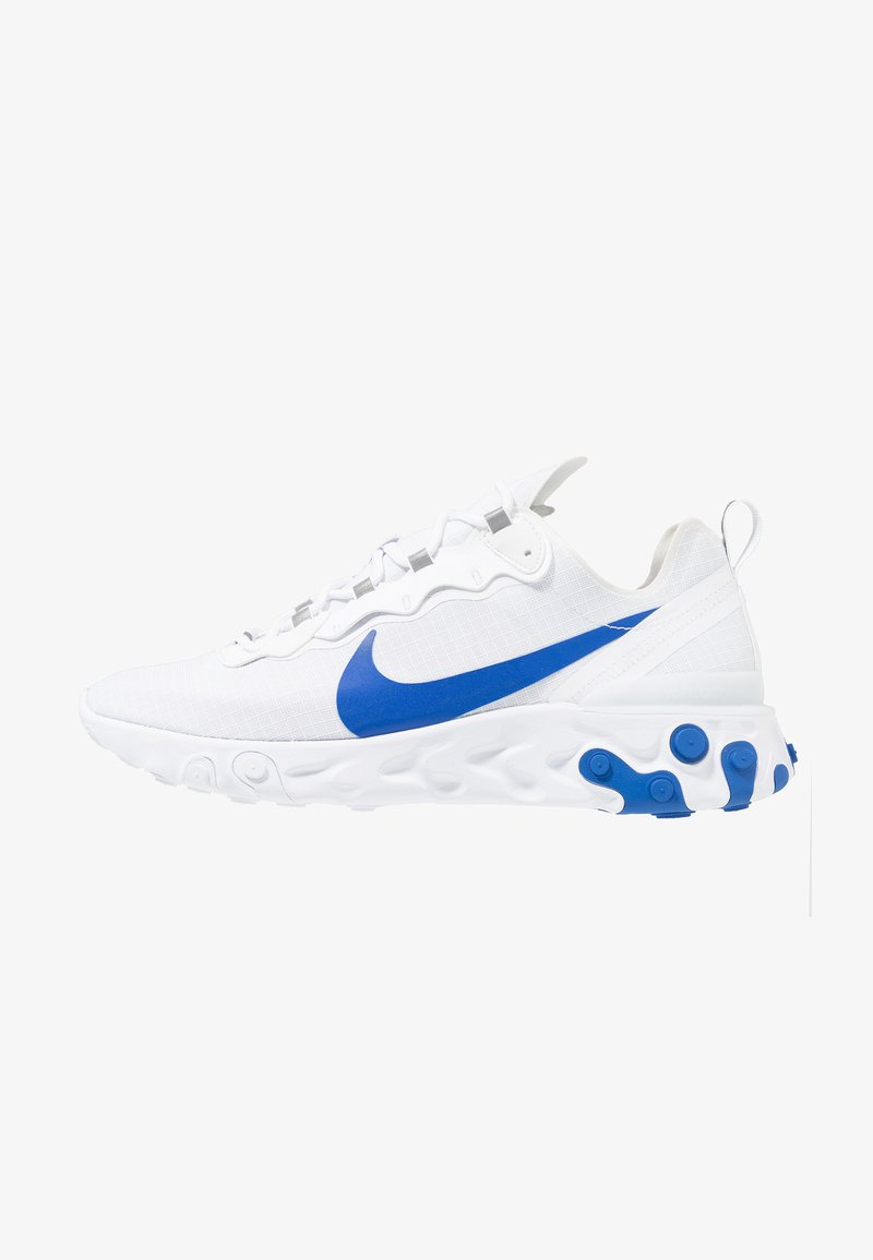 Nike Sportswear - REACT ELEMENT 55 SE - Baskets basses - white/game royal