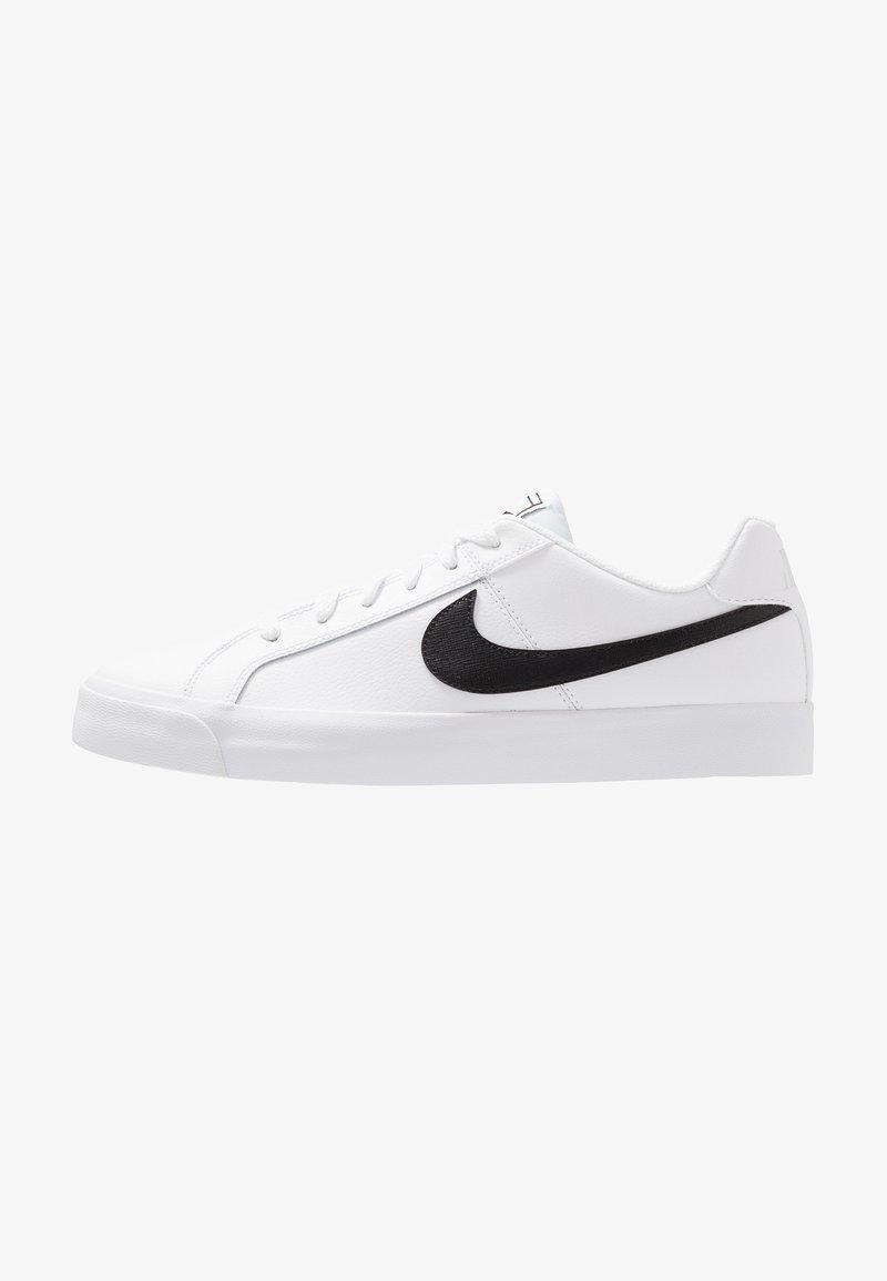 Nike Sportswear - COURT ROYALE - Sneaker low - white/black