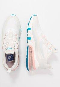 Nike Sportswear - AIR MAX 270 REACT - Joggesko - summit white/ghost aqua/phantom/coral stardust/imperial blue/light bone - 1
