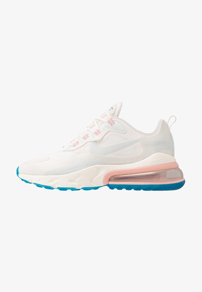 Nike Sportswear - AIR MAX 270 REACT - Sneakers laag - summit white/ghost aqua/phantom/coral stardust/imperial blue/light bone