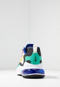 Nike Sportswear - AIR MAX 270 REACT - Tenisky - phantom/university  gold/university  red/black/kinetic green/hyper royal - 4