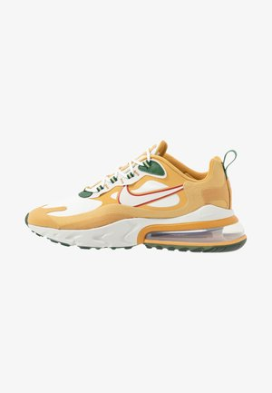 AIR MAX 270 REACT - Sneakers - club gold/light bone/flat gold/wheat/cosmic bonsai/dune red