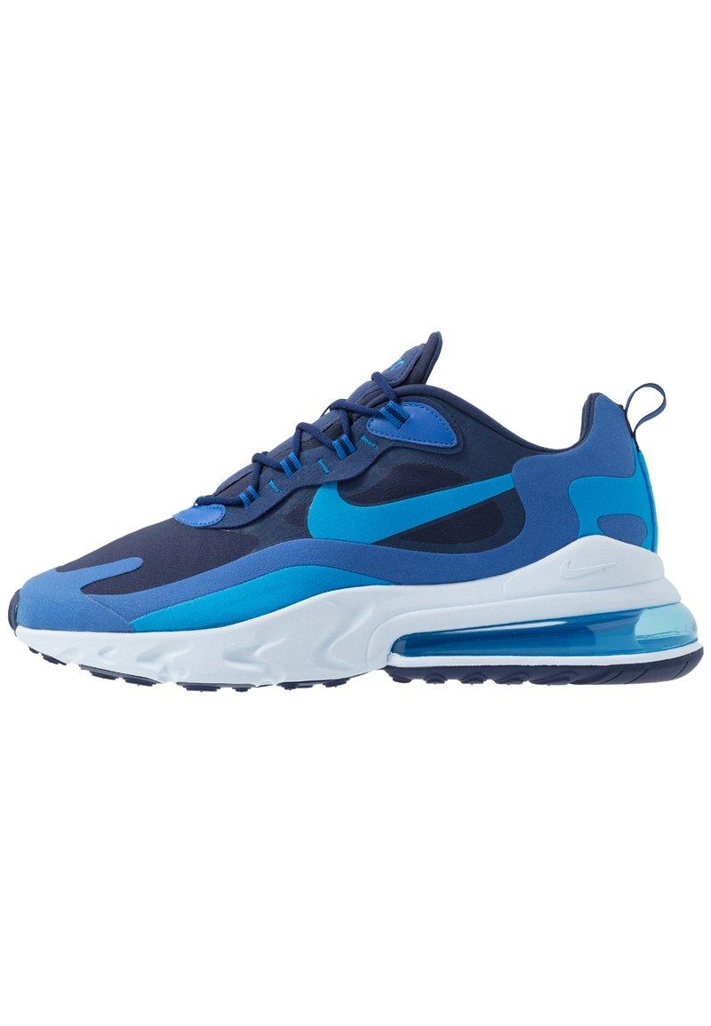Nike Sportswear - AIR MAX 270 REACT - Sneakers - blue void/blue stardust/coastal blue/topaz mist/photo blue