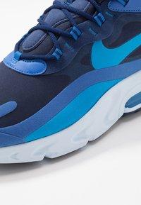 Nike Sportswear - AIR MAX 270 REACT - Sneakers - blue void/blue stardust/coastal blue/topaz mist/photo blue - 5