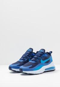 Nike Sportswear - AIR MAX 270 REACT - Sneakers - blue void/blue stardust/coastal blue/topaz mist/photo blue - 2