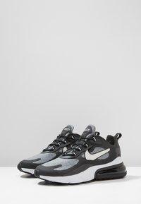 Nike Sportswear - AIR MAX 270 REACT - Zapatillas - black/vast grey/off noir - 2