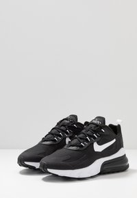 Nike Sportswear - AIR MAX 270 REACT - Zapatillas - black/white - 2