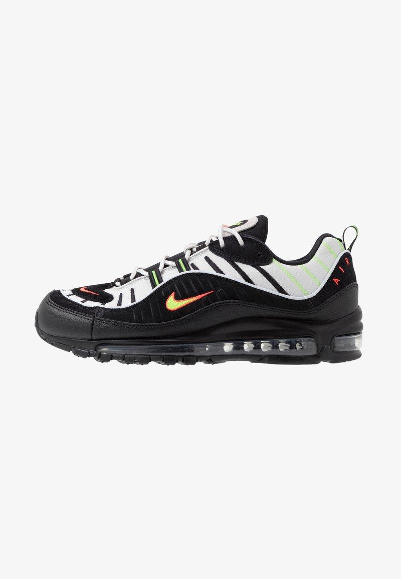 Nike Sportswear - AIR MAX 98 - Sneaker low - platinum tint/black/electric green/bright crimson