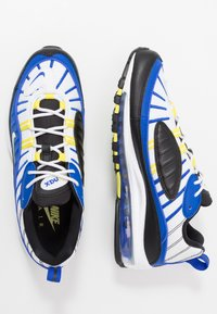 Nike Sportswear - AIR MAX 98 - Sneakersy niskie - racer blue/white/black/dynamic yellow - 2